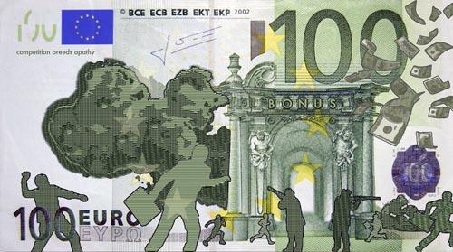 Рисунок на евро